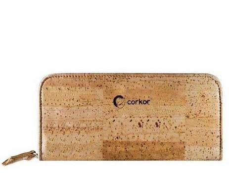 Corkor – Portemonnaie für Damen aus Kork – vegan