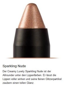 Sparkling Nude - Lippenstift vegan