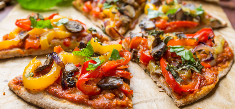 Pizza vegan (auch als Low-Carb-Variante)