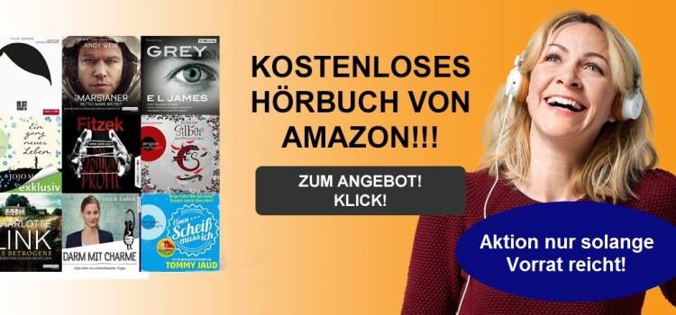 Amazon verschenkt Hörbücher
