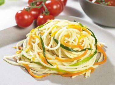 Spiralschneider: Spaghetti aus Obst und Gemüse