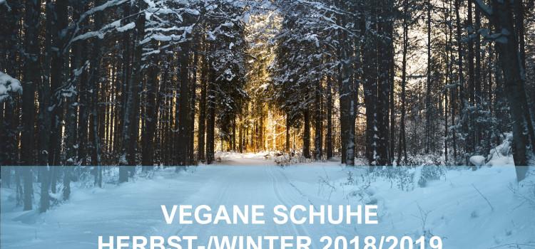 Vegane Schuhe Herbst-/Winter 2018/2019 (FRAUEN)