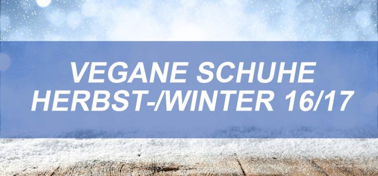 Vegane Schuhe Herbst-/Winter 2016/2017